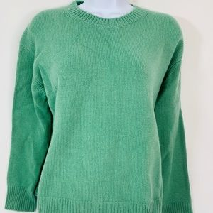 VINCE 100% Cashmere XS Soft Green Sweater